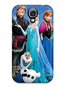 8535163K65668867 Perfect Tpu Case For Galaxy S4/ Anti-scratch Protector Case (frozen 2013 Movie)