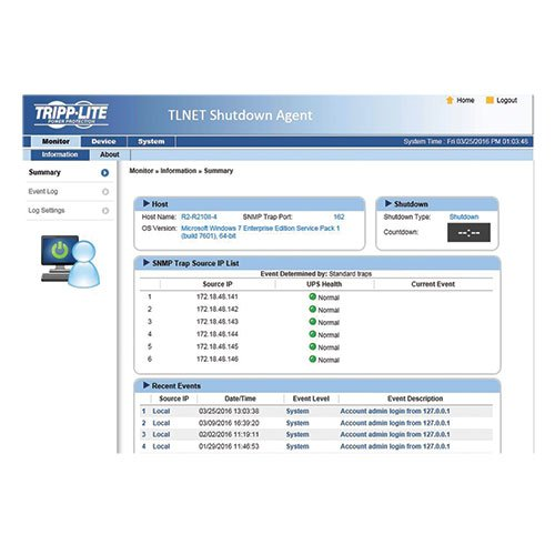 Tripp Lite SNMP/Java-free Web Management Accessory Card for Compatible Tripp Lite UPS Systems (TLNETCARD) by Tripp Lite (Image #4)