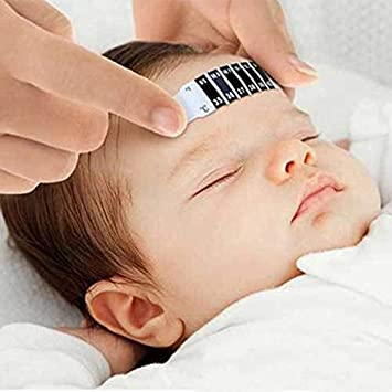Amazon.com : Forehead Head Strip Thermometer Fever Body Baby Child Kid Monitor Care Test Temperature New Hot Selling Termometro Testa : Baby