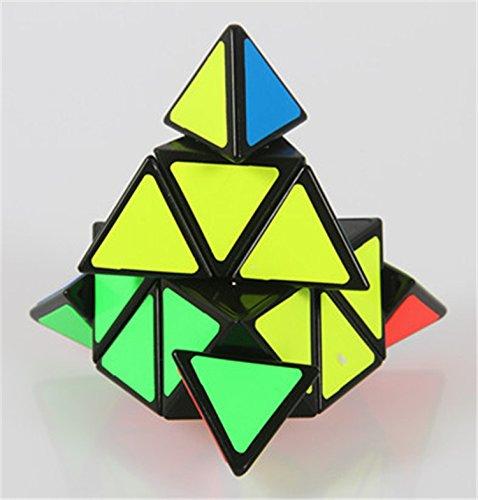 Creative Pyraminx Speedcubing Black Puzzle