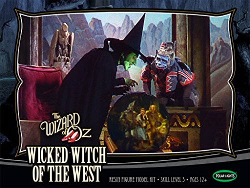 Polar Lights | The Wizard of Oz Wicked Witch of The West Resin | 1:8 Scale Figure Model Kit