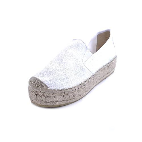 Vidorreta - Alpargatas para Mujer Blanco Bianco Blanco Size: 35: Amazon.es: Zapatos y complementos