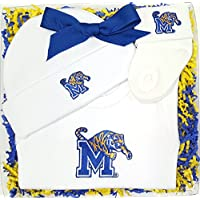 Memphis Tigers 3 Piece Baby Clothing Gift Set