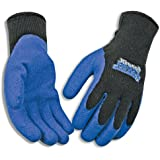 Kinco 1789 Frostbreaker Latex Form Fitting Thermal Gripping Glove, Work, Small, Blue/Black (Pack of 12 Pairs)