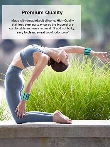 Katurn 2 STK Knöchelgewichte, Handgewichte, Fußgewichte, Knöchelgewichte Für Hand & Fußgelenke, Fußgewichte Einstellbar
