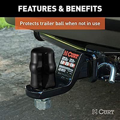 CURT 21800 Trailer Ball Cover Rubber Hitch Ball Cover for 1-7/8-Inch or 2-Inch Diameter Trailer Ball: Automotive