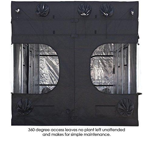 5162ErCuJgL - Gorilla Grow Tent 8x16 w/FREE 1' Extension