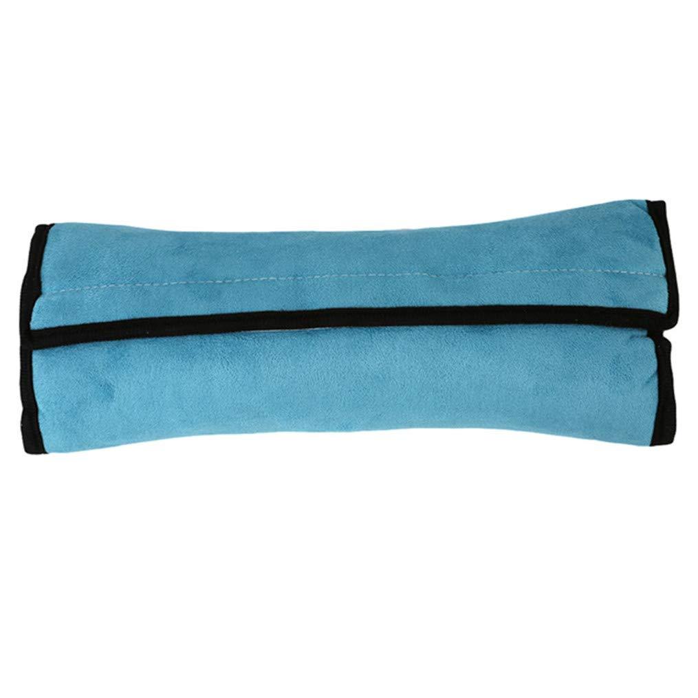 Flybloom Safety Belt Pad Children Shoulder Cushion Car Safety Strap Car Seat Belts Pillow Shoulder Protector,Grey