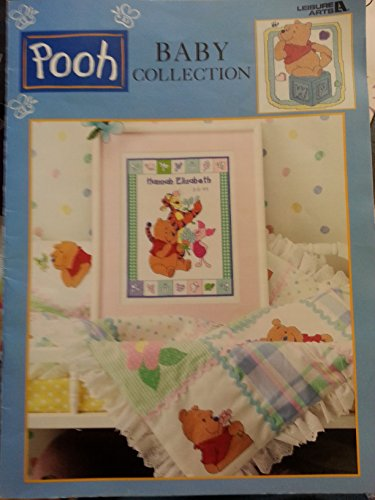 {Pooh Cross Stitch} Pooh Baby Collection {Leaflet 3125}