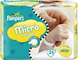 Pampers Windeln New Baby Gr.0 Micro 1-2.5kg Tragepackpack, 24 Stück thumbnail