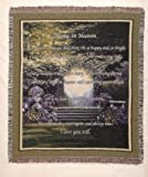 Simply Home In Heaven Tapestry Throw