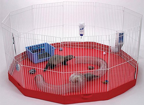 PLAYPEN MAT FOR SMALL ANIMALS - 45X45 IN Small Animal Playpen Mat