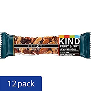 Top 10 Dried fruit and nut bars