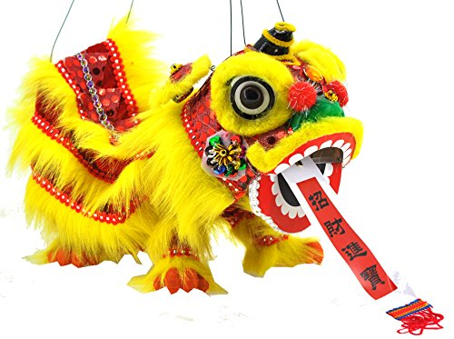 Mandala Crafts Chinese Hand Marionette Puppet (Yellow for sale  Delivered anywhere in USA