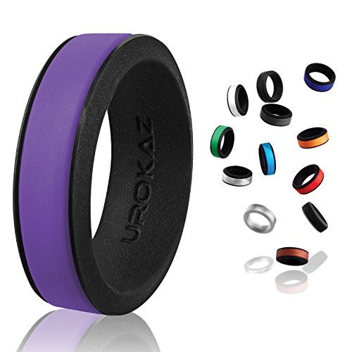 UROKAZ - Silicone Wedding Ring, The Only Ring that Fits Your Lifestyle - Whether You are Single or Married, UROKAZ Ring is Right for You - It is Fashionable, Flexible, and Comfortable