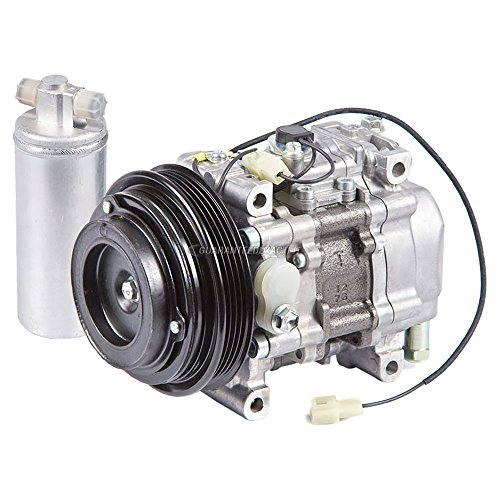 OEM AC Compressor w/A/C Drier For Mazda Miata 1990 1991 1992 1993 - BuyAutoParts 60-87003R4 New