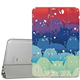 iPad Mini 1 / 2 / 3 Case, MoKo Ultra Slim Lightweight Smart-shell Stand Cover with Translucent Frosted Back Protector for Apple iPad Mini 1 (2012) / iPad Mini 2 (2013) / iPad Mini 3 (2014), Totoro