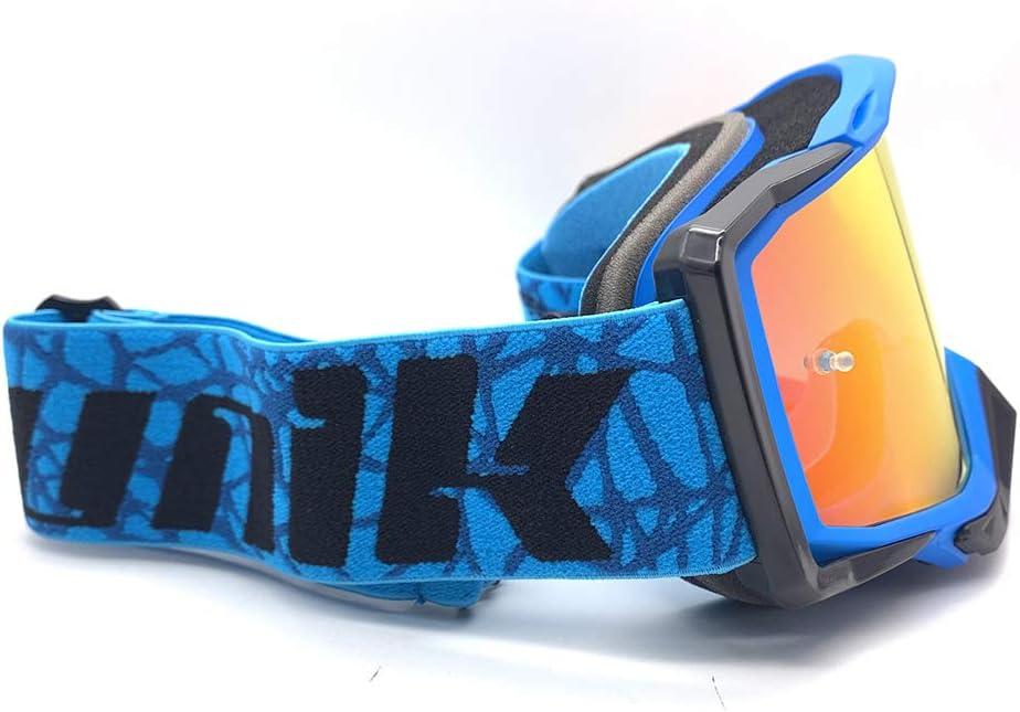 Gafas Cross GX-03 Star Lente Espejo REVO UNIK Azul//Negra