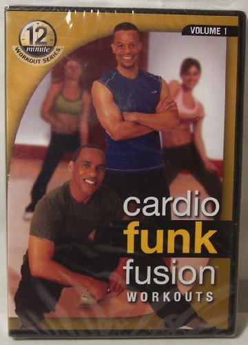 Cardio Funk Fusion Workouts, Volume 1, 12 Minute Workout Series, 4 Complete Workouts (Foundation, Total Body Funk, Total Body Burn, Advance Fusion Burn), Ferguson/Crawford, The Food Lovers Fat Loss System, DVD ()