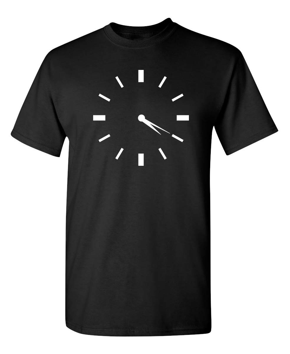 420 Clock Novelty Weed Graphic Sarcastic Funny T Shirt
