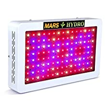 MarsHydro Mars 600W LED Grow Light Full Spectrum For Indoor Plant Growth And Flowering Spectrum the 265W True Watt Panel