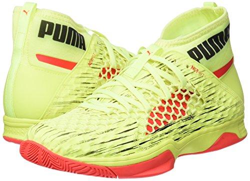 Puma Evospeed rouge Blast fizzy puma Indoor Euro Noir Adulte 1 Unisexe Jaune Netfit Jaune Baskets rr1dUq