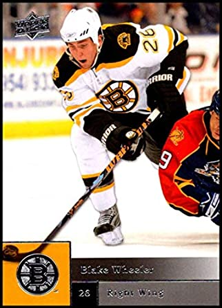 Amazon.com  2009-10 Upper Deck  6 Blake Wheeler NM-MT Boston Bruins ... 83a1453fb