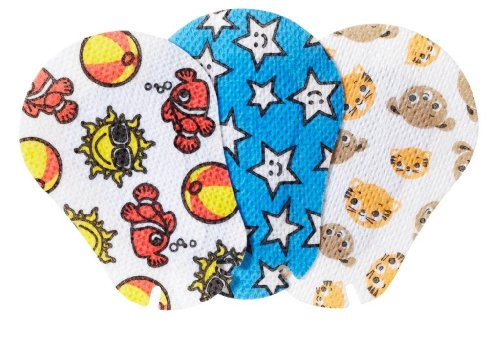 MYI Gender Neutral #1 Eye Patches - Junior Size (51 Per Package) (Myi Occlusion Eye Patches)