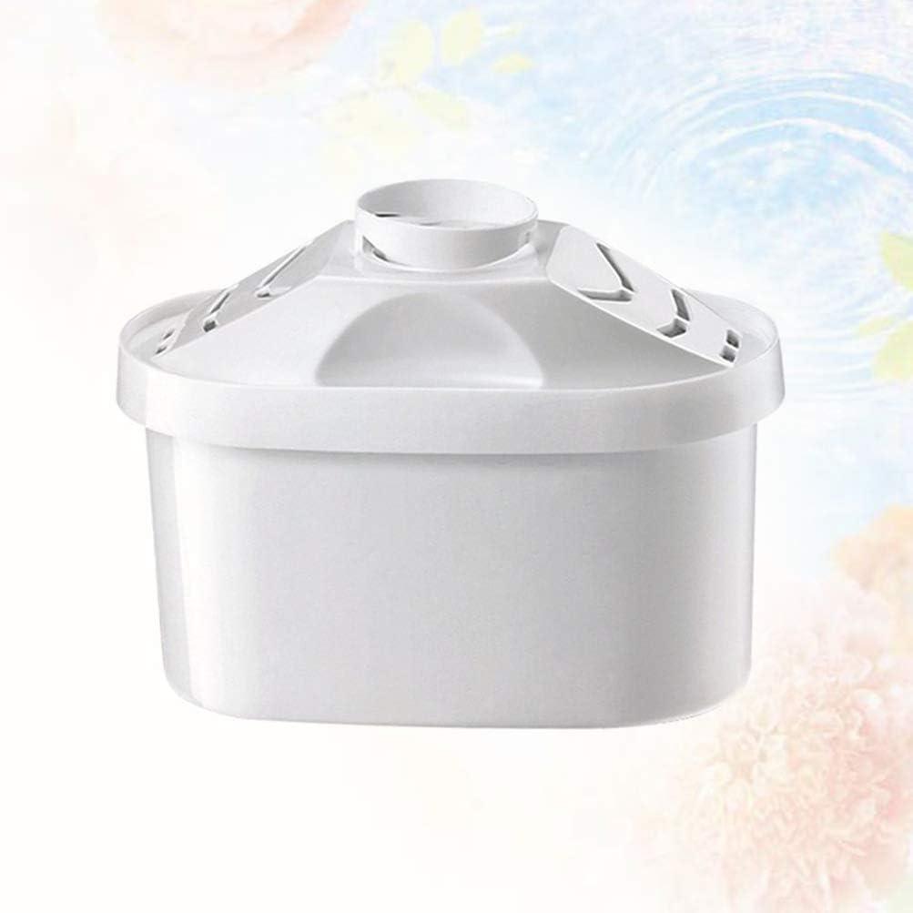 UPKOCH Filtro de Agua Profesional para el hogar, Jarra de Agua, hervidor de Agua, purificador de Gota, Accesorio de núcleo (Blanco): Amazon.es: Hogar
