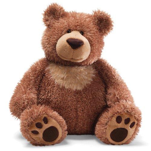 """Gund Slumbers Brown Bear 17"""" Plush"""