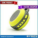 Bluetooth Speaker - Yellow Portable Keychain Chargable SD Card AUX FM Radio Microphone Apple Iphone 4/5/6/7/8/X Samsung Galaxy Sony Xperia Xiaomi Asus LG G4 G5 G6 Nokia HTC BlackBerry Motorola Huawei