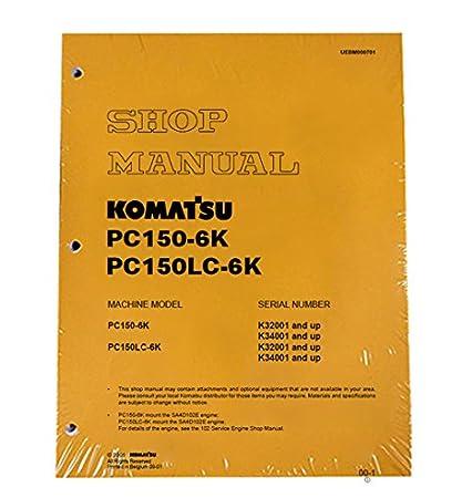 download komatsu pc150 5 excavator manual