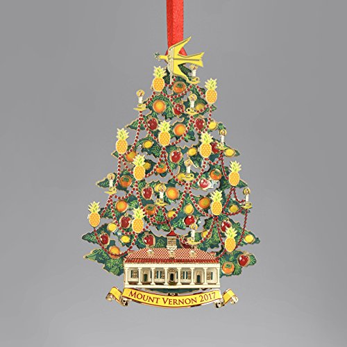 George Washington's Mount Vernon Mount Vernon 2017 Annual Ornament