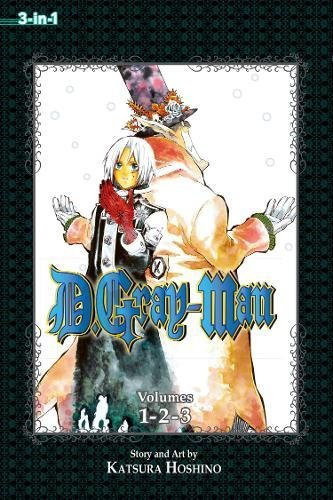 D.Gray-Man, Volume 1-2-3