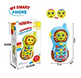 Toy for 9 Months Old Baby, Musical Toys for 1-2 Year Old Baby Gift for 10-18 Months Old Toddler Boys Learning Toy Phone for 5-9 Months Baby Birthday Gift for Son Girl Toy
