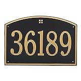 1 Line Cape Charles Address Plaque 21''L x 14''H
