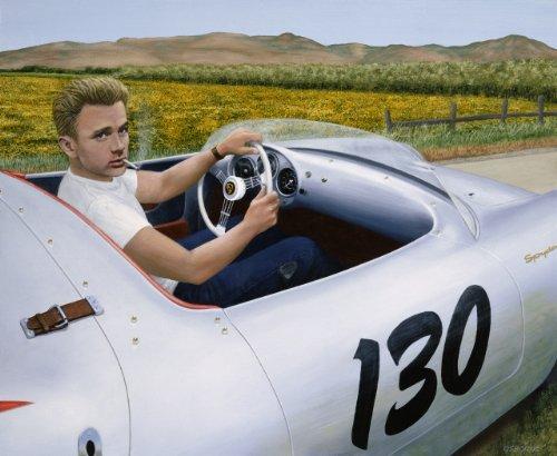 James Dean & 1955 Porsche Spyder