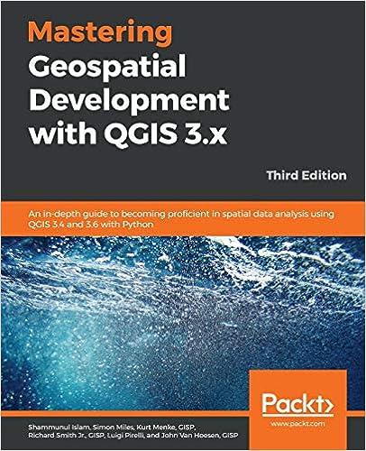 couverture du livre Mastering Geospatial Development with QGIS 3.x