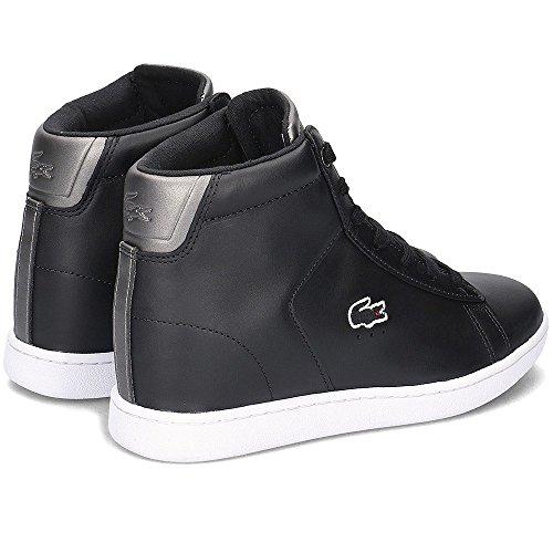 Lacoste CARNABY EVO WEDGE 317 3 SPW 024 Damen Sneaker Schuhe (Black)