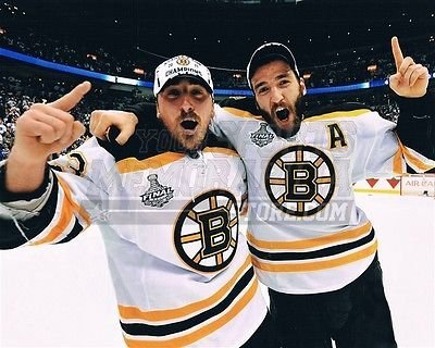 Brad Marchand Patrice Bergeron Boston Bruins Cup Champion 8x10 11x14 16x20  1787 - Size 8x10 ae8c9b277