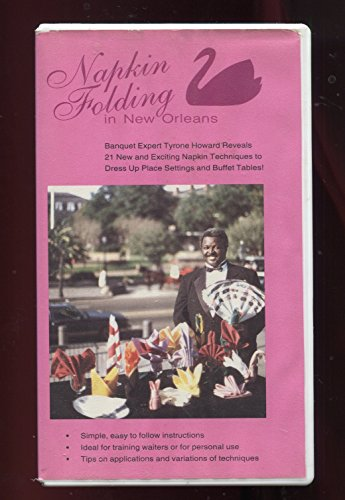 Napkin Folding In New Orleans [VHS]
