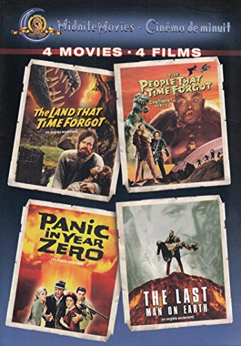 Midnight Movies: The Land That Time Forgot / The People That Time Forgot / Panic In Year Zero / The Last Man On Earth (Panic Dvd)