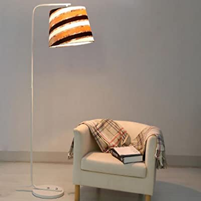 FGLDD Lampadaire salon chambre simple moderne lampadaire pêche ...