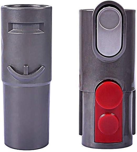 Adaptador convertidor de Accesorios, Adecuado para Dyson V7 V8 y V10 Aspirador sin Cable y Herramienta para V6 DC58 DC59 DC62 DC44 DC48 con 32 mm: Amazon.es: Hogar