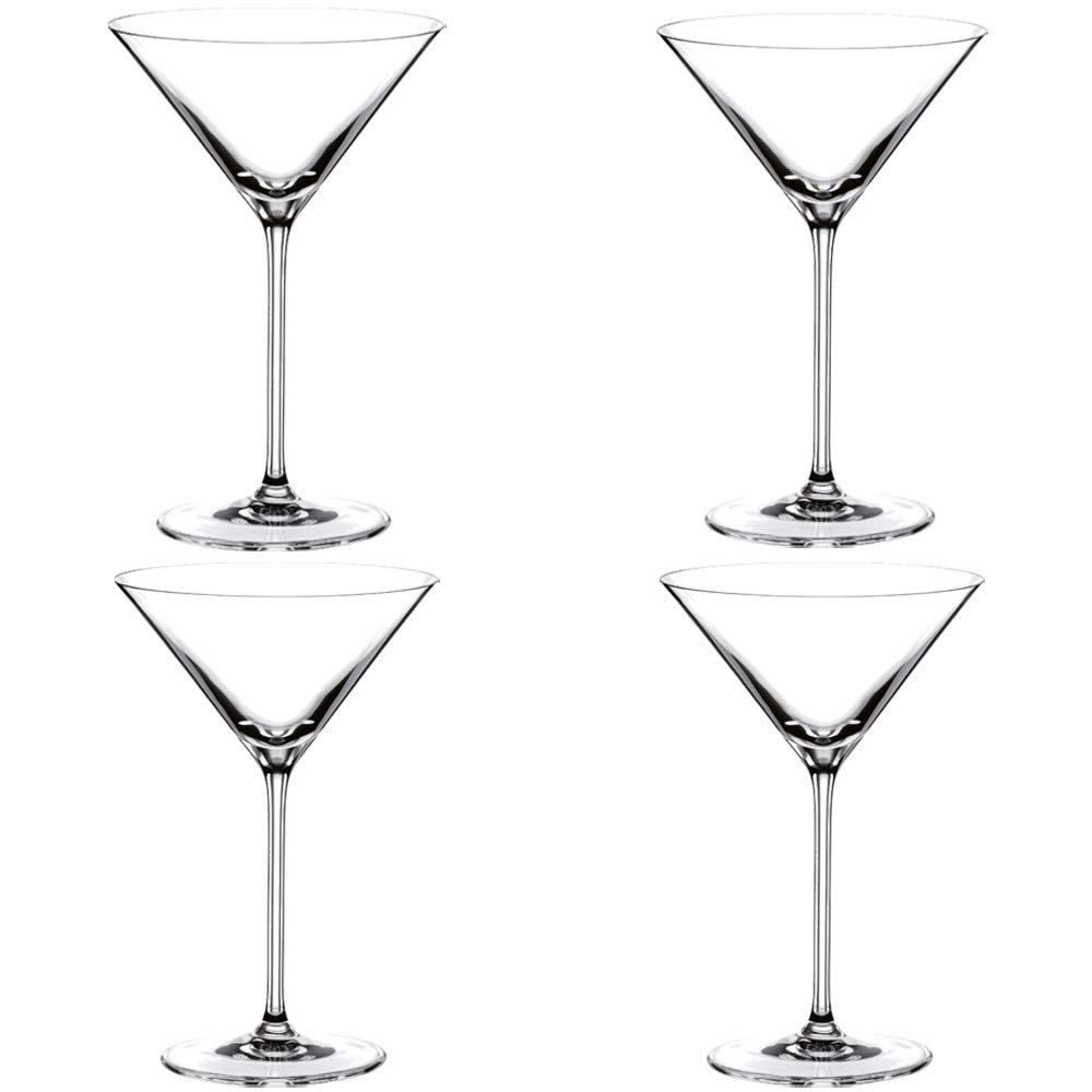 Riedel Vinum XL Leaded Crystal Martini Glass, Set o 4 by Riedel