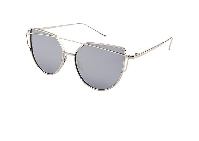 Nación Pirata - Gafas de Sol de Moda, Lente Plana, Barra metal, Polarizadas