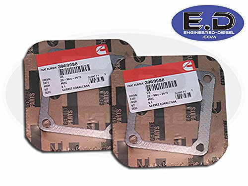 Intake-Horn-Gasket-Set-of-2-Cummins-59L-1989-2007-3969988