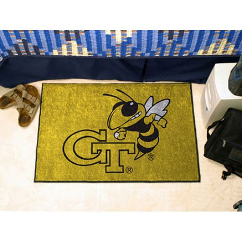 Fanmats Georgia Tech Yellow Jackets Starter Mat (Starter Georgia Jacket)