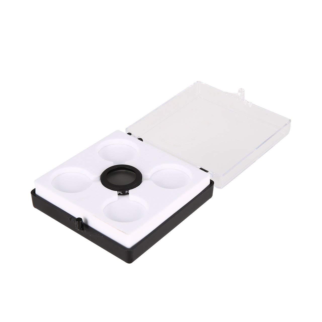 romerofs 調節可能ミニポータブル偏光レンズフィルター保護カバー CPL HDカメラ Parrot ANAFIドローンカメラレンズ用   B07MYT7CJ6