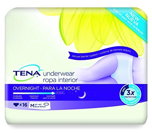 TENA Overnight Underwear Medium Count product image